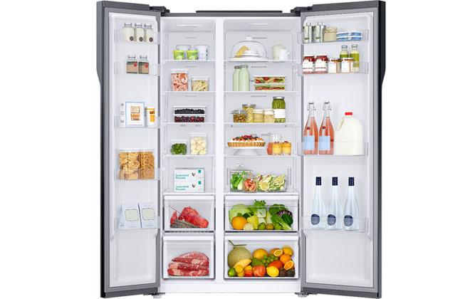 Холодильник в открытом виде