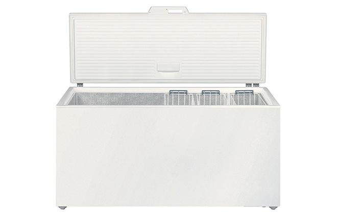 Морозильный ларь Libherr GT 6122 в открытом виде