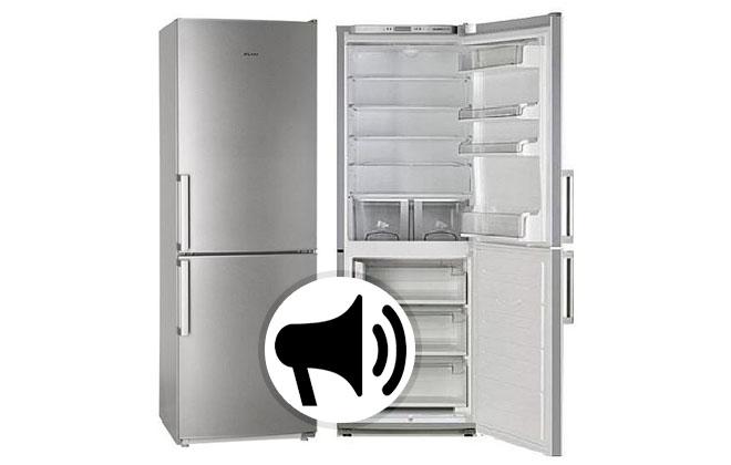 Посторонние звуки в холодильнике