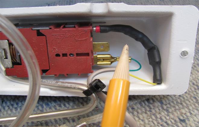 Ремонт терморегулятора бытовой техники