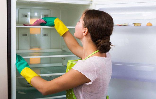 Убирать в холодильнике