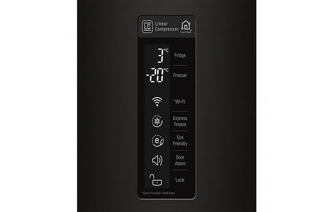 Дисплей холодильника LG