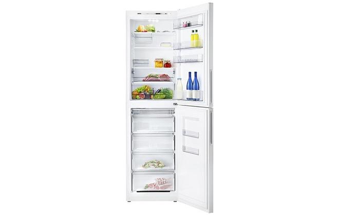 Холодильник Атлант ХМ 4625-101 с продуктами