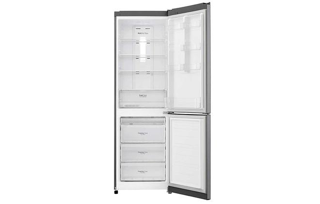 Холодильник LG GA-B419SLGL внутри