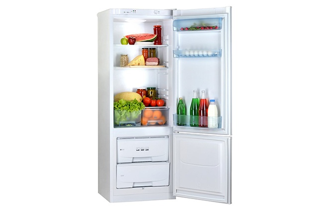 Холодильник Pozis RK-102 внутри