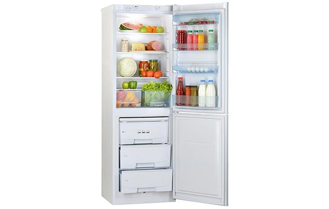 Холодильник Pozis RK-139 внутри
