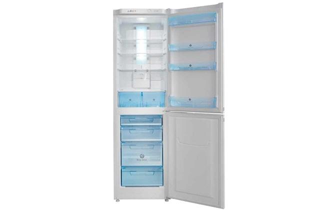 Холодильник Pozis RK FNF-170 с открытыми дверцами
