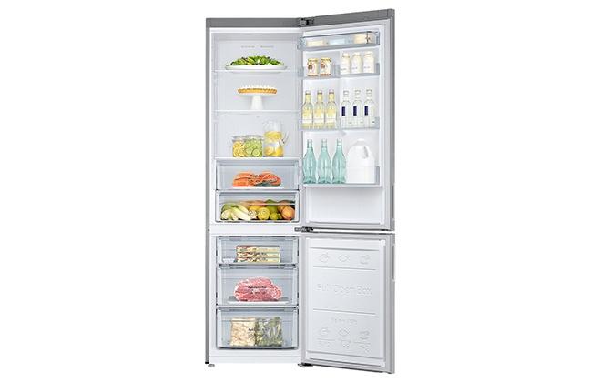 Холодильник Samsung RB37J5200SA в открытом виде
