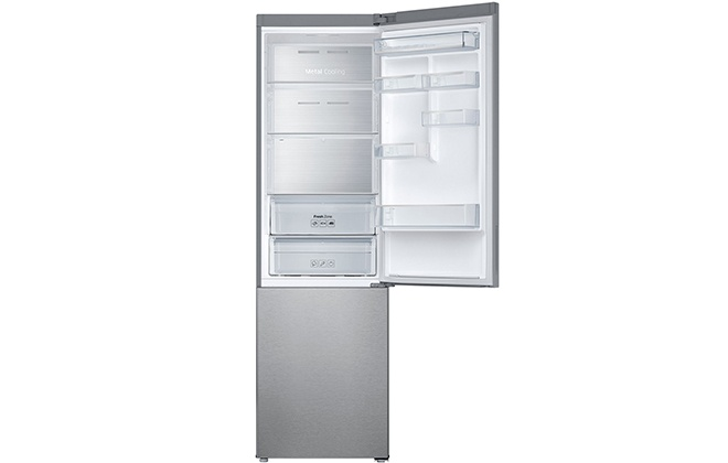 Холодильник Samsung RB37J5261SA с открытой верхней дверцей