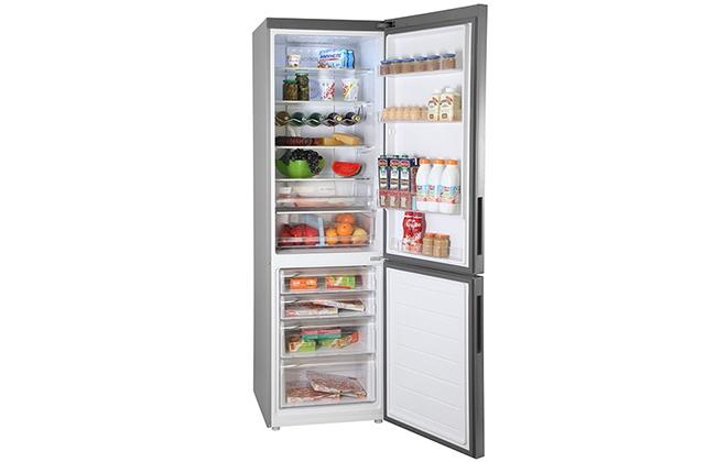 Продукты в холодильнике Haier C2F637CFMV