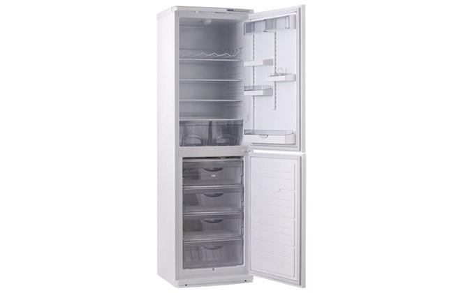 Пустой холодильник Атлант 6025-031