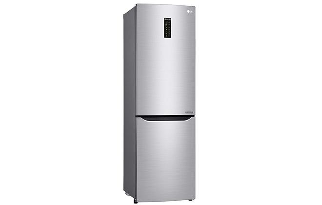 Серебристый холодильник LG GA-M429SARZ