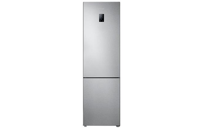 Серебристый холодильник Samsung RB37J5261SA