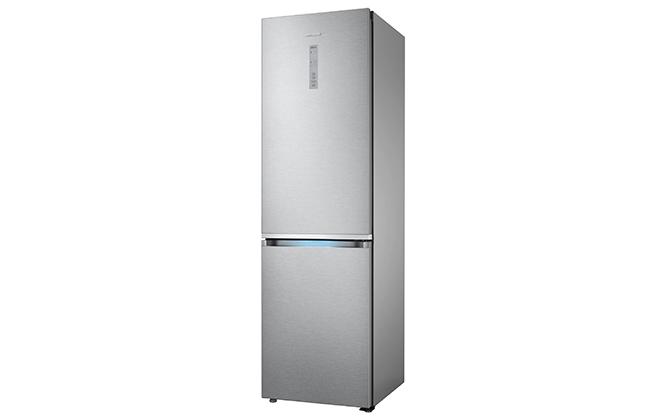 Серебристый холодильник Samsung RB41J7811SA
