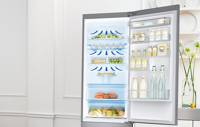 Система охлаждения холодильника Samsung