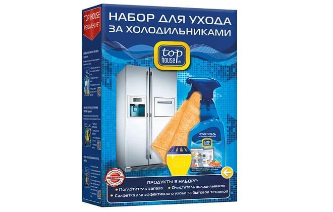 Top House набор для мытья холодильника