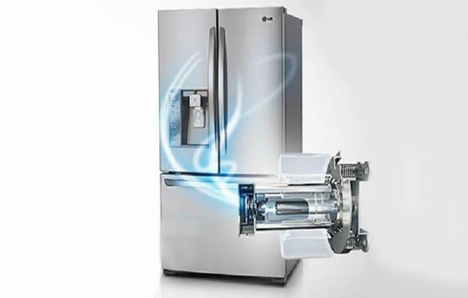 Линейный компрессор в новом холодильнике