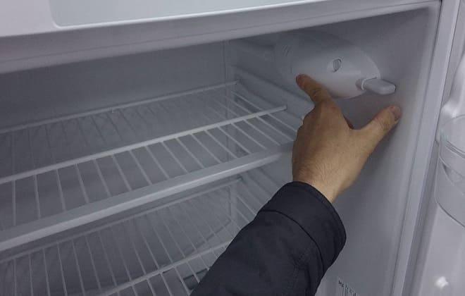 Выход из строя освещения в холодильнике