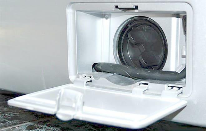 Фильтр сливного насоса стиральной машине LG