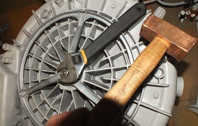Инструменты для снятия барабана со стиральной машины