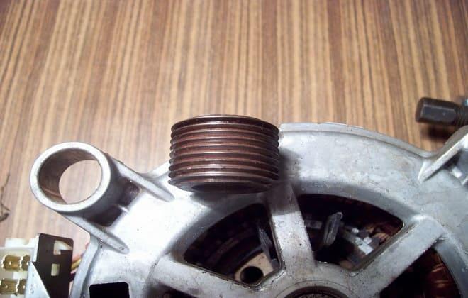 Как самому снять шкив с двигателя стиральной машины