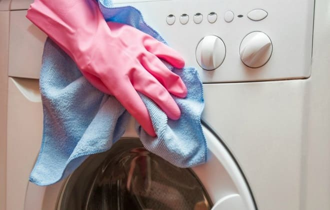 Наружная очистка стиралки