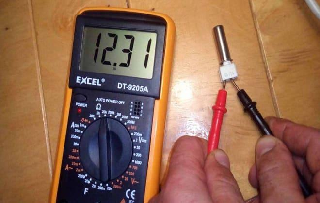 Неисправность датчика температуры