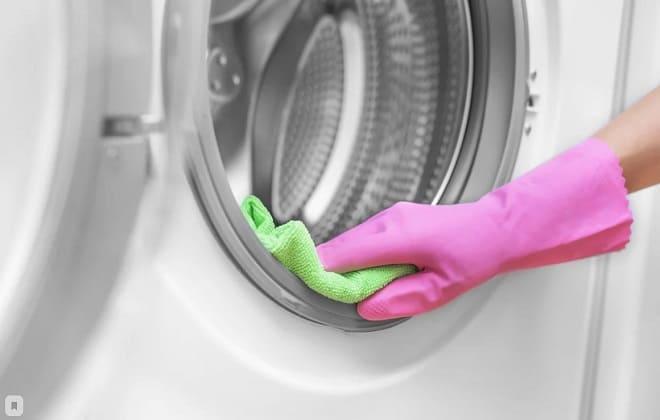 Вытереть стиральную машину