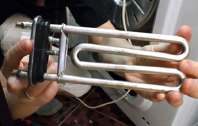 Замена ТЭНа в стиральной машине Аристон своими руками
