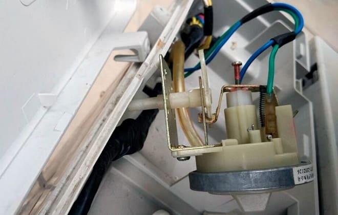 Датчик уровня воды в стиральной машине LG