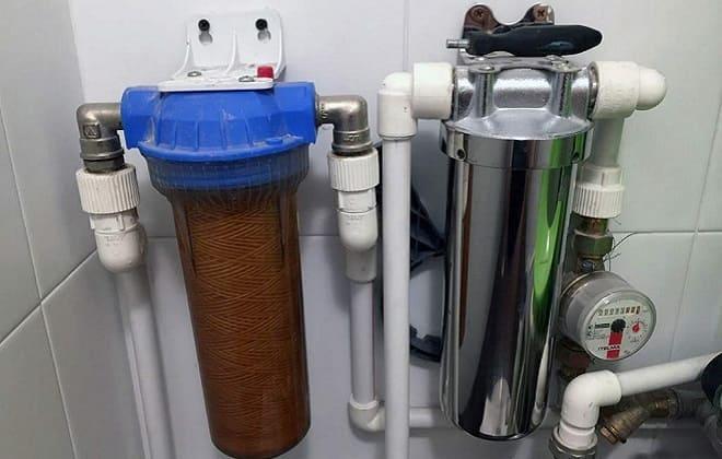 Магистральный фильтр для стиралки