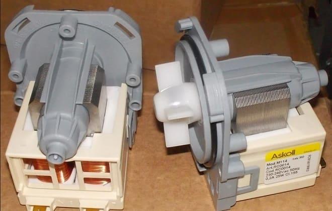 Насос стиральной машины автомат