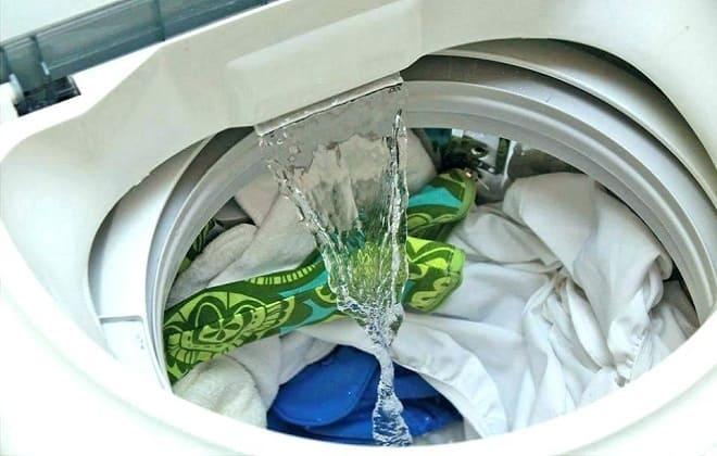 Стиральная машинка наливает и сразу сливает воду