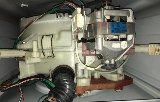 Сломался мотор в стиралке Самсунг