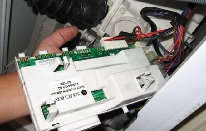 Управляющий модуль стиралки
